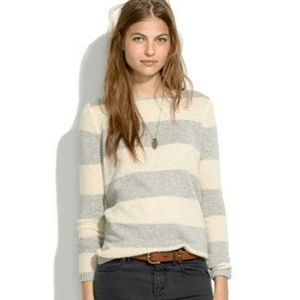 Madewell Softstripe Striped Boat Neck Sweater